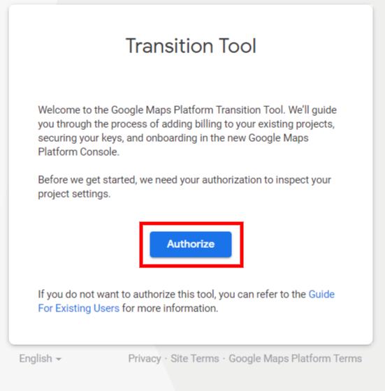 Transition Tool